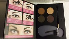 BEAUTY TREATS PERFECT EYEBROW POWDER KIT STENCILS AND BRUSH 05/2020