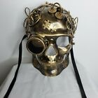 Steampunk Full face masquerade Festival Burning Man Party Prom mask