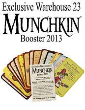 Munchkin Warehouse 23 2013 Booster & Promo Bookmark John Kovalic Art SJ Games