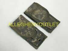 Lot Of 2 USGI Double 2 Magazine Pouch Digital Camo MOLLE VERY GOOD CONDITION