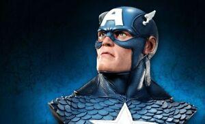 SIDESHOW Captain America Life Size Bust Marvel