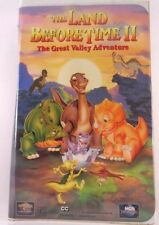 The Land Before Time VHS LOT The Land Before Time 2,3,4 & 6 Set FREE SHIPPING!!