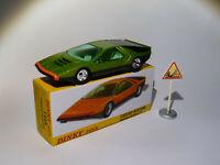 Alfa romeo Carabo Bertone Verte -  ref 1426 au 1/43 de dinky toys atlas