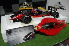 F1 FERRARI 641/2 Winner GP Portugal 1990 + pilote Nigel Mansell 1/18 EXOTO 97102