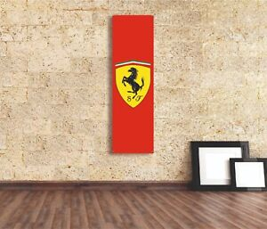 Ferrari  Sign Vinyl Banner Flag  Garage Workshop Adversting Many Size