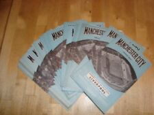 Away Teams Manchester City Football Programme Collections/Bulk Lots