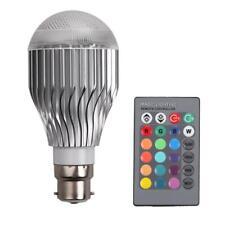 10W Remote Control Colour Change LED Light Bulb B22 Bright Multi-Function  K1B