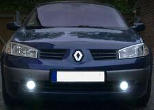 2x H11 Bulbs Fog Light LED Cree Cob White 6000K Canbus Renault Megane MK2 03-10