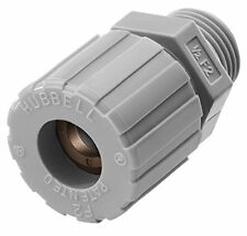 Hubbell Shc1024Cr Kellems Wire Management Cord Connectors, Straight Male, Nyl.