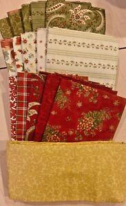 Moda's Roman Holiday Fabrics - Quilt Kit + Book