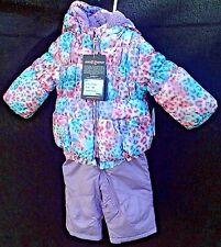 ZeroXposur 12mo Jacket and Bib Snow Pant Set Girls Baby Toddler NEW Pastels
