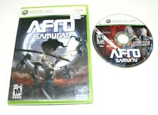 Afro Samurai (Microsoft Xbox 360, 2009) No Scratch on th CD