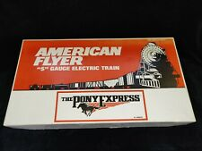 NIB AMERICAN FLYER 6-49600 UNION PACIFIC PONY EXPRESS SET WITH EXTRA CARS!
