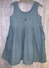 Girls Age 3-4 Years - Next Fine Cord Pinafore Dress