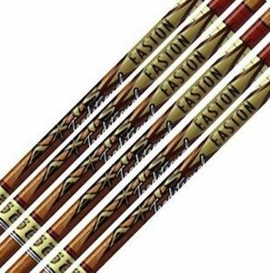 Easton Axis Traditional 600 Raw Shafts w/HIT Inserts, 1 Dozen