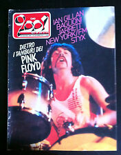 1981 PINK FLOID IAN GILLAN MODETTES STRAYCATS