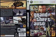 Grand Theft Auto IV: COMPLETE! Game, Case, Book N MAP! (Xbox 360, 2010)FreeSHIPP