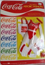 Coca Cola Aerobic Fashions Outfit for 11 1/2 inch Barbie, Sindy, Dream Girl Doll