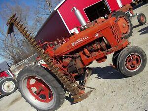 Farmall H Super H NICE complete w/ brackets Side Mount Sickle Bar mower HARDFIND