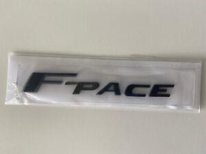 Jaguar F Pace Black Boot Badge Emblem Logo Tailgate