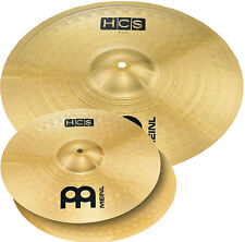 Meinl HCS 14 18 Beckenset Cymbal Set 14 Hihat 18 Crash