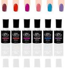 UV-Nails Lot of 6 UV LED Gel Polish Bottles Salon Quality 15mL UV6-016