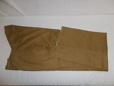 WR1D-34 pre WW 1 USMC Tan High Back Trousers Marine High Collar Size 34