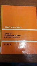 Haydn: String Quartet: Opus 64/65: Music Score