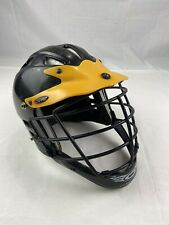 Cascade C Pro Major League Lacrosse Helmet Adult S/M Black/yellow
