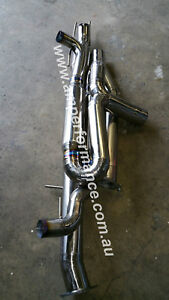 A45 AMG Mercedes 3 inch Titanium exhaust system