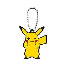 Pokemon Rubber Keychain - Sun & Moon - Pikachu