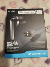 Sennheiser CX 2.00i Noise Blocking Ear Canal PHONES, New