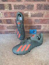 ADIDAS X 19.3 SG FOOTBALL BOOTS - GREEN / ORANGE - SIZE UK 10 - BRAND NEW