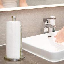 Vertical Paper Towel Holder Stainless Steel Kitchen Roll Paper Tissue Towel Rack