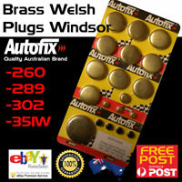 Brass Welch Welsh Freeze Core Plug Set Gallery fits Ford Windsor 289 302 351W