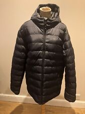 Mens Jacket Size XL By Mountain Warehouse Navy Blue Padded Hood Casual Active
