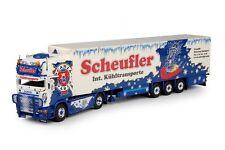 "Tekno 68764 - 1:50 - Scania 4er Kühlkoffer-Sattelzug ""Scheufler"" - NEU in OVP"