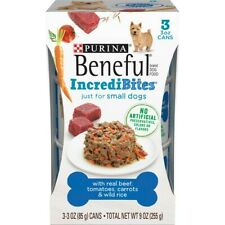 Purina Beneful IncrediBites With Real Beef, Tomatoes, Carrots & Wild Rice