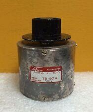 Telonic TB-50A, 0 to 10 dB (1 dB Steps), 50 ohm, BNC (F-F) Rotary Attenuator