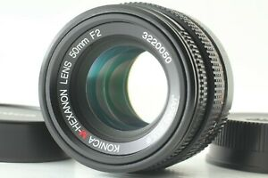 [MINT] Konica M-HEXANON 50mm F2 MF Lens for Leica M Mount From Japan