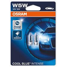 Ampoule de Voiture Osram Cool Blue Intense W5W (2 Pcs)