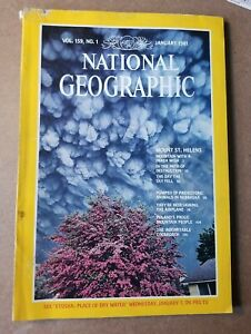 National Geographic Magazine - May 1981 - Mount St. Helens
