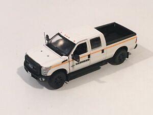 "Ford F250 Crew Cab 6 Ft Bed - ""LIEBHERR"" - Black Wheels - 1/50 - Sword"