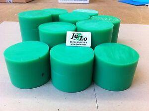 PE Grün Reststücke 5 kg Rund Polyethylen Bastlerbedarf
