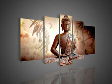 5 Panel Wall Art Religion Buddha Oil Painting On Canvas unframed
