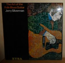 Jerry Silverman: Art of the Folk Blues Guitar '70 UK XTRA 1096