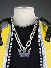 Kingdom Hearts 2.5 Hd Remix Sora Metal Sora Crown Anime Pro Necklace