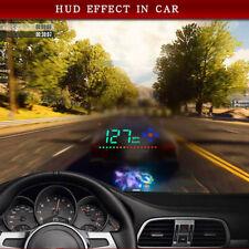 Universal Black 3.5'' HUD HD Head Up Display Speed Alarm Compass Direction Show