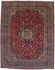 Thick Pile Vintage Handmade Traditional 10X13 Floral Oriental Rug Décor Carpet