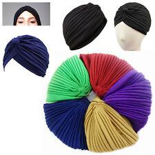 Pañuelo Turbante Sombrero Gorra estilo de pelo Bandana Quimio Cabeza Cubierta Envoltura Elástico plisada